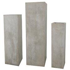 3 Piece Decorative Pedestal Set