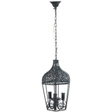 3 Light Mini Candle Chandelier