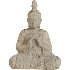 Wooden Buddha Figurine