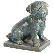 Sitting Dog Figurine