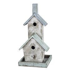 French Chic Garden Free Standing Birdhouse