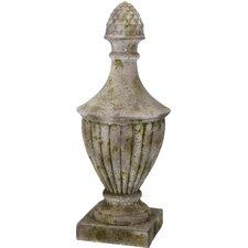 French Chic Garden Artichoke Magnesia Urn