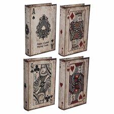 Royal Flush Book Box 4 Piece Set
