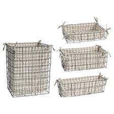 4-Piece Mason Basket Set
