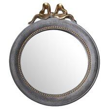 Golden Bow Wall Mirror
