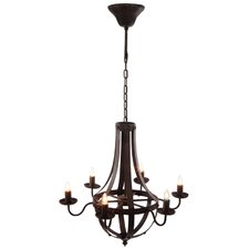 French Chic Garden 6 Light Mini Chandelier