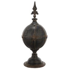 French Chic Garden Metal Finial Sculpture