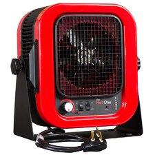 5,000 Watt Wall Mounted Electric Fan Compact Heater