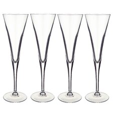 Purismo Flute Champagne Glass (Set of 4)