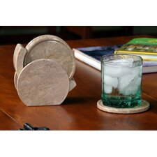 Coral Fossil Coaster (Set of 6)