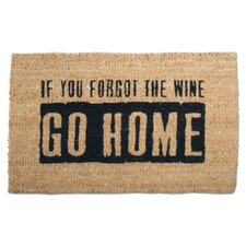 """""""Where's The Wine?"""" Doormat"""