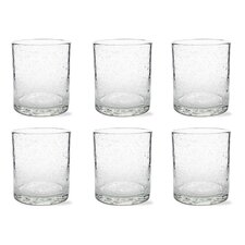 Tag Bubble Double Old Fashion Glass (Set of 6)