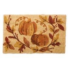 Pumpkin Vine Doormat
