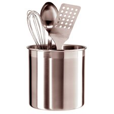 Jumbo Stainless Steel Utensil Holder