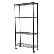 Mobile Wire Shelving