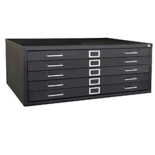Flat Files 5 Drawer Filing Cabinet