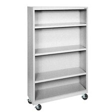 """Elite Series Mobile 52"""" Standard Bookcase"""