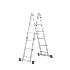 ProfiStep combi Alu-Universalleiter 4x3 Sprossen