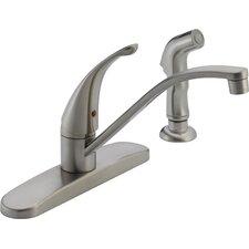 Single Handle Centerset Kitchen Faucet