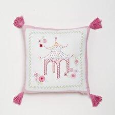 Pagoda Decorative Cotton Throw Pillow