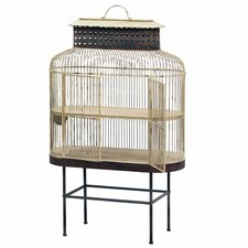 Bird Cage With Metal Stand