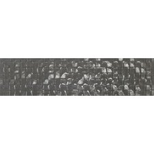 """Cubale 3"""" x 12"""" Glass Mosaic Tile in New Taupe"""
