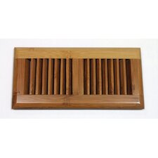 "5.63"" x 11.25"" Bamboo Wood Surface Mount Vent Cover"