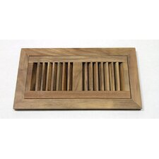"2"" x 12"" Acacia Wood Flush Mount Vent Cover"
