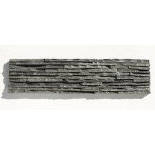Portico Slate Random Sized Stone Splitface Tile in Black