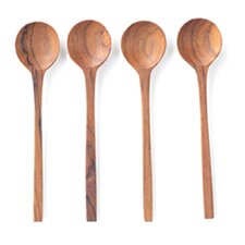 Teak Mini Spoon (Set of 4)