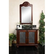"Nicole 36"" Single Bathroom Vanity Set"