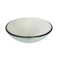 Nicole Large Modern Round Vessel Bathroom Sink