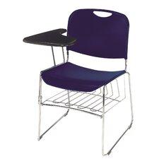 "17"" Plastic Tablet Arm Chair"