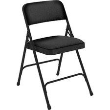2200 Series Upholstered Folding Chair (Set of 4)