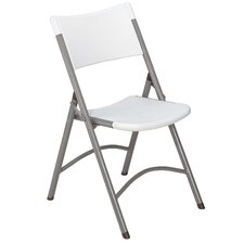 Blow Molded Folding Chair (Set of 4)