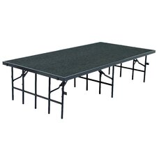 Portable Single Stages & Seated Risers in Carpet