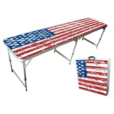 8 Foot Beer Pong Table & Tailgate Table