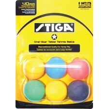 One-Star Table Tennis Balls (Set of 2)