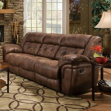 Wisconsin Beautyrest Motion Sofa