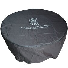 Round Vinyl Cover for Chat Table Stonefire or Nightfire Crystal Fire Pit Table