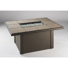Napa Valley Crystal Fire Pit Table