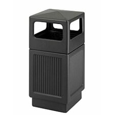 Canmeleon 38-Gal Side-Open Square Receptacle