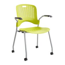 Sassy® Office Stacking Chair (Set of 2)