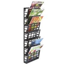 Grid Magazine Rack