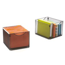 Onyx  Mesh Cube Bins (Set of 4)