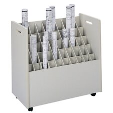 Mobile Roll Files Filing Cart