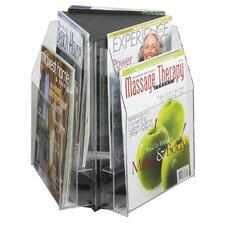 6 Pocket Magazine Table Display