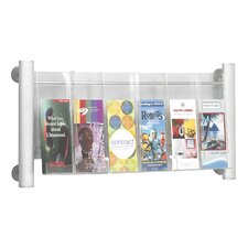 Luxe 6 Pocket Magazine Rack