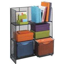 Onyx Fold-Up 3 Shelf Shelving Unit