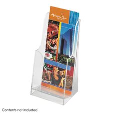 Acrylic Single Pocket Pamphlet Display (Set of 6)